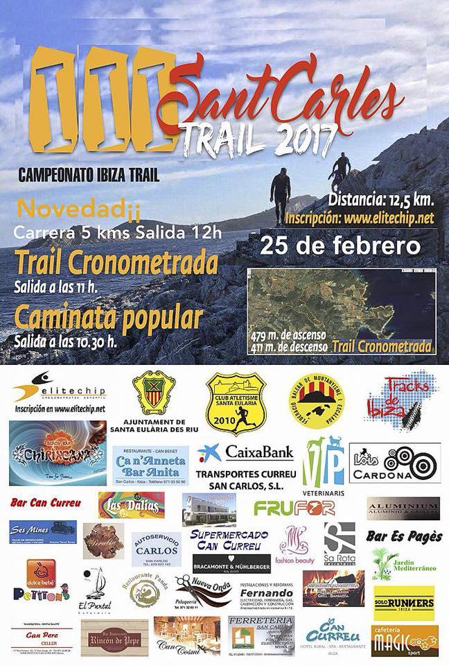 duquesaplaya.com 3 sant carles trail 2018